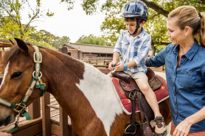 The Cabins at Disney's Fort Wilderness Resort Horseriding