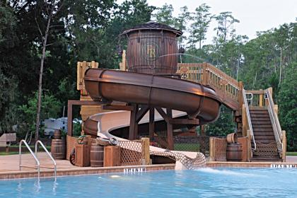 The Cabins at Disney's Fort Wilderness Resort Feature Pool