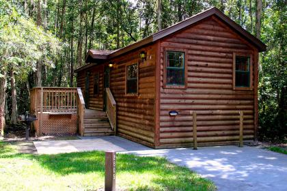 The Cabins at Disney's Fort Wilderness Resort Cabin exterior