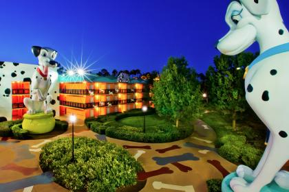 Disney's All-Star Movies Resort Hotel Outside