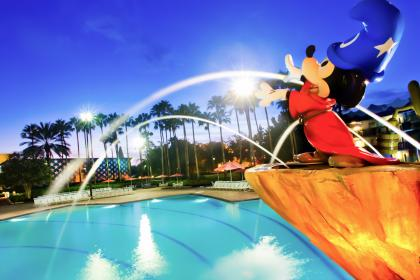 Disney's All-Star Movies Resort Hotel Pool