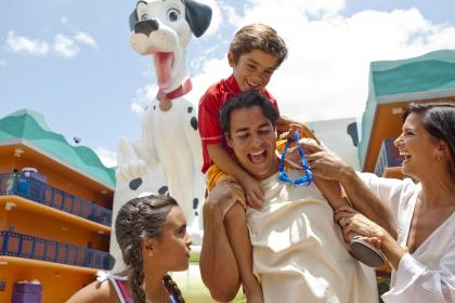 Disney's All-Star Movies Resort family friendly