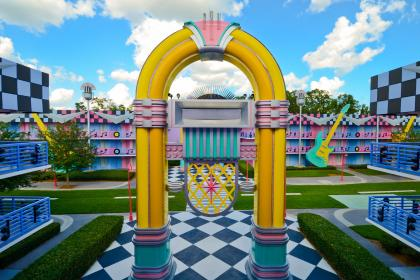 Disney's All-Star Music Resort Jukebox