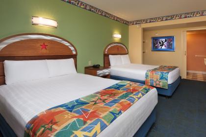 Disney's All-Star Music Resort Hotel room