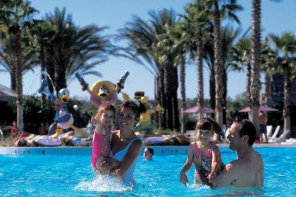 Disney's All-Star Music Resort Hotel Pool