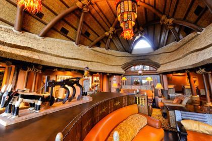 Disney's Animal Kingdom Lodge - Kidani Villas Lobby