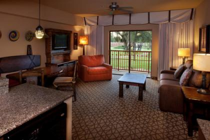Disney's Animal Kingdom Lodge - Kidani Villas Lounge