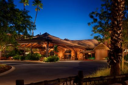 Disney's Animal Kingdom Lodge - Kidani Villas Exterior