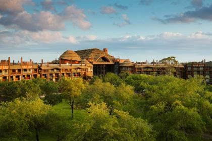 Disney's Animal Kingdom Lodge Outside