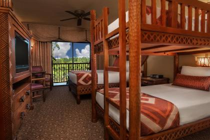 Disney's Animal Kingdom Lodge Bunk Bed