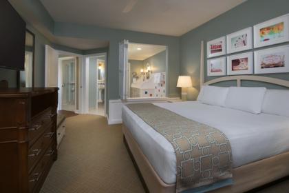 Disney's BoardWalk Villas King Room