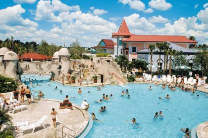 Disney's Caribbean Beach Resort Feature Pool