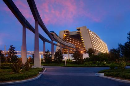 Disney's Contemporary Resort Outside