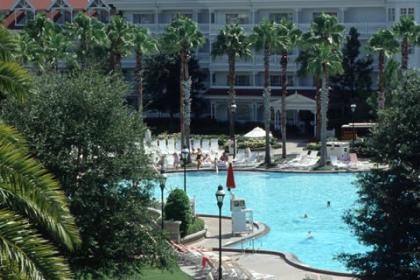 Disney's Grand Floridian Resort Feature Pool