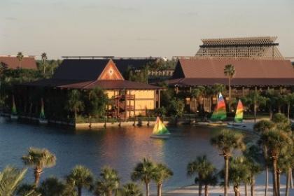 Disney's Polynesian Resort Outside
