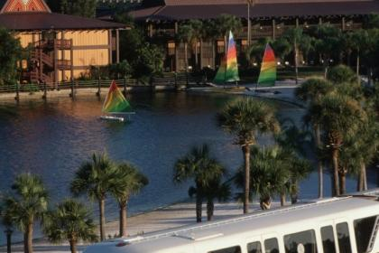 Disney's Polynesian Resort Monorail
