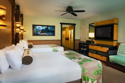 Disney S Polynesian Village Resort Themeparkbeds Com