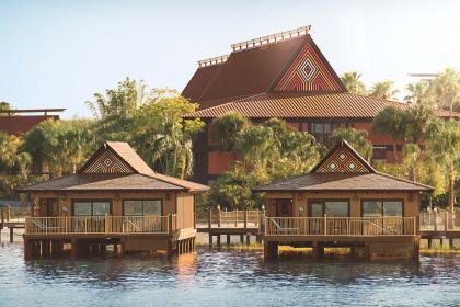 Disney's Polynesian Villas and Bungalows Exterior