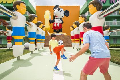 Disney's Pop Century Resort Table Football