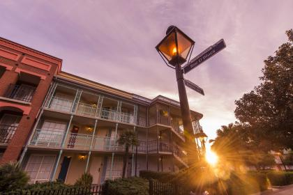 Disney's Port Orleans - French Quarter Exterior