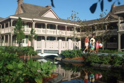 Disney's Port Orleans - French Quarter Hotel