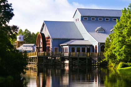 Disney's Port Orleans Resort - Riverside Boathouse