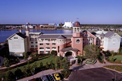 Disney's Saratoga Springs Resort and Spa Exterior