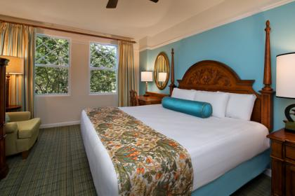Disney's Saratoga Springs Resort Spa Rooms