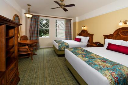 Disney's Saratoga Springs Resort and Spa Rooms