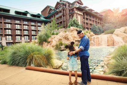 Disney's Wilderness Lodge Outside