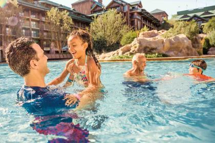 Disney's Wilderness Lodge Pool