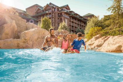 Disney's Wilderness Lodge Feature Pool