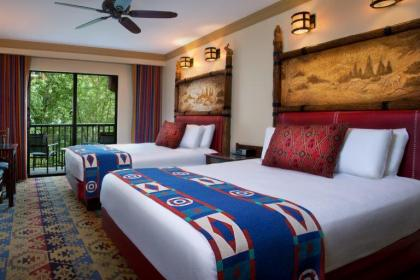 Disney's Wilderness Lodge Room