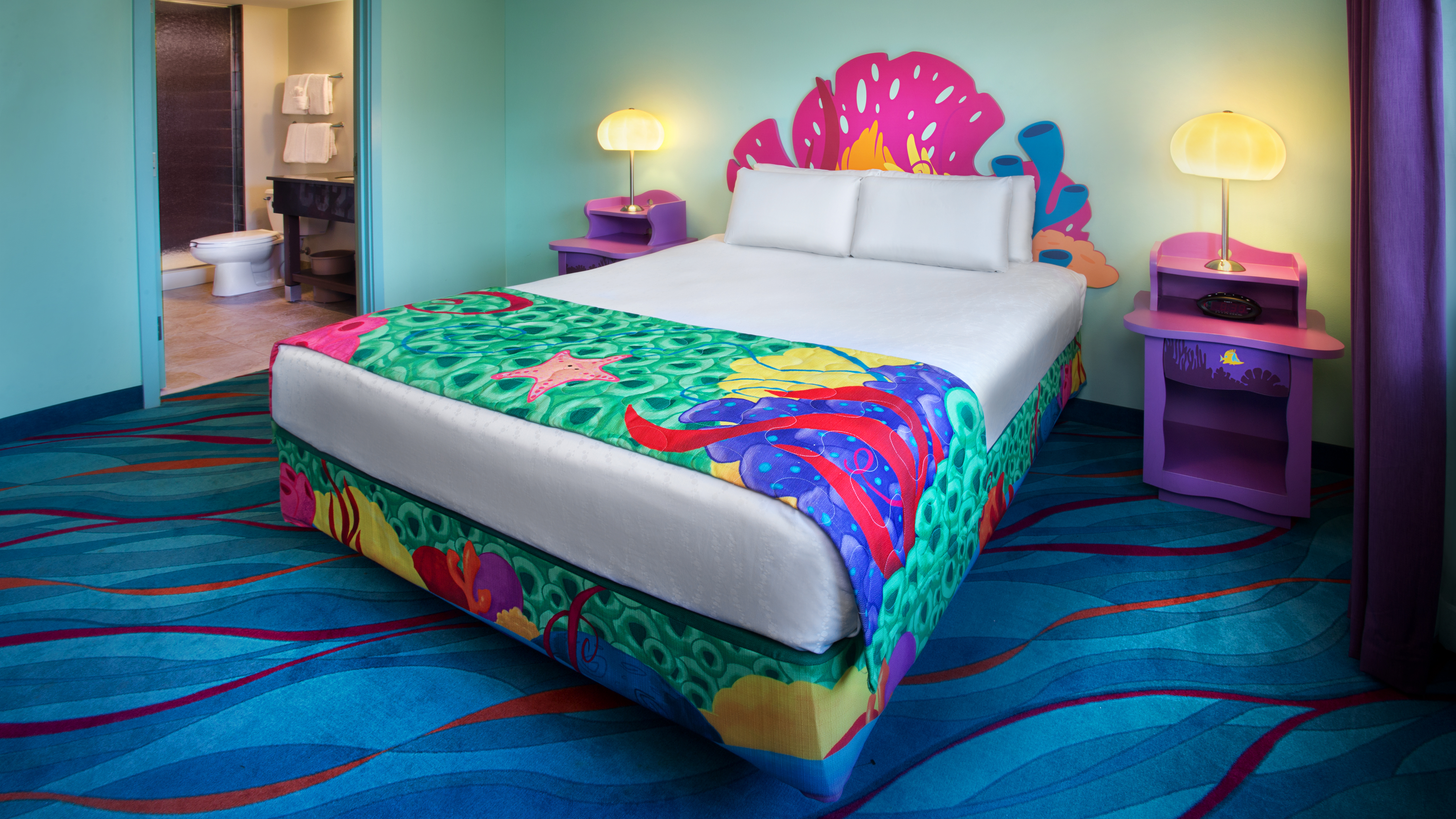 Finding Nemo Suites Themeparkbeds