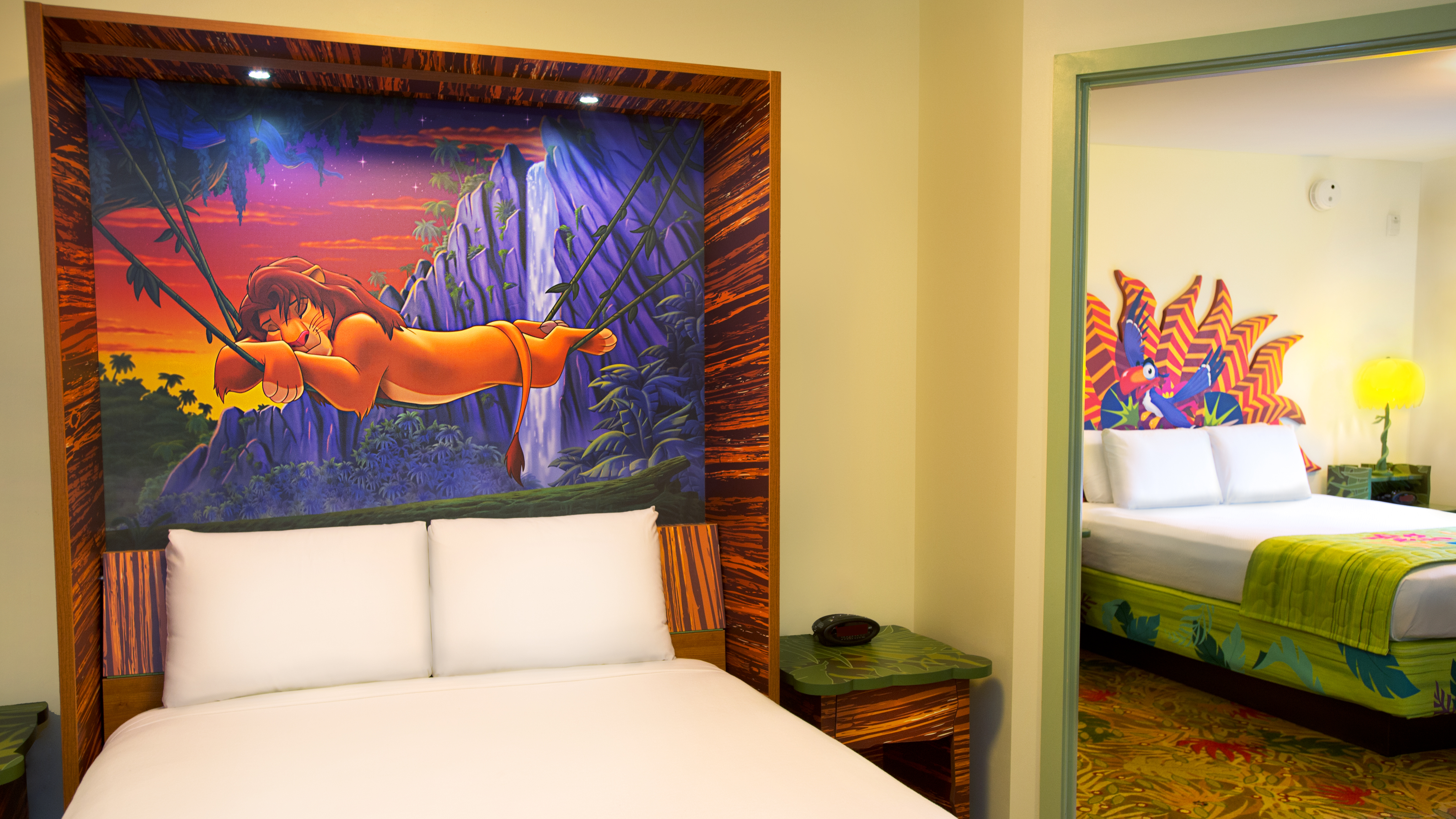 The Lion King Family Suites Themeparkbeds Com